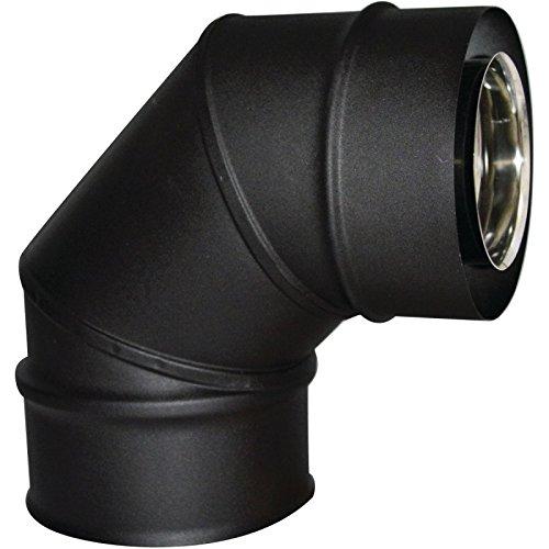 ISOTIP-JONCOUX 037105 Chapeau Plat Noir Diam/ètre 125 /à 200 mm