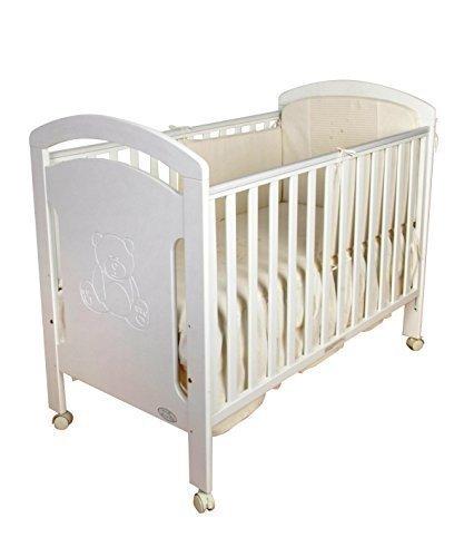Cuna para bebé, modelo osito. De regalo el colchon de viscolastica mas protector