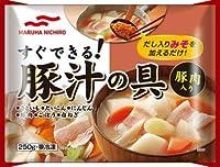 [冷凍]マルハニチロ 豚汁の具 250g×20個
