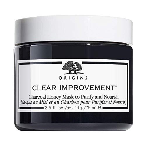 Origins Clear Improvement - Maschera per la cura del viso, 75 ml, colore: Carbone