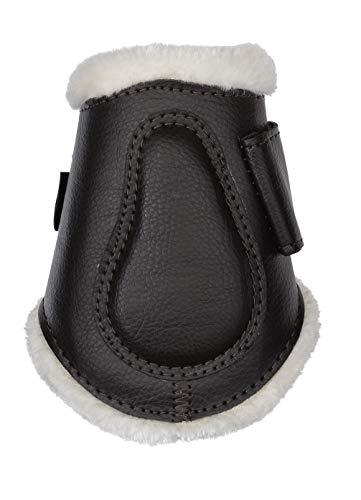 Scanhorse Horseguard Protection Boots, Streichkappen, mit Fell, hinten, braun, Taglia:L