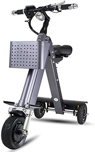 Xiaokang Triciclo eléctrico Plegable Neutro, Mini Scooter eléctrico portátil Bicicleta eléctrica de la Bicicleta eléctrica de la Bicicleta eléctrica