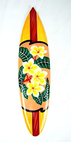 Asia Design Tabla de surf en miniatura con soporte de madera