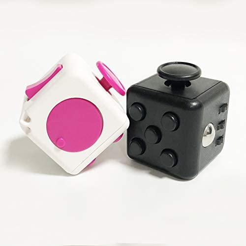 Nice live Fidget Cube 2PCS Stress Anxiety Pressure Relieving Fidget Pack for Adults Anti Stress product image
