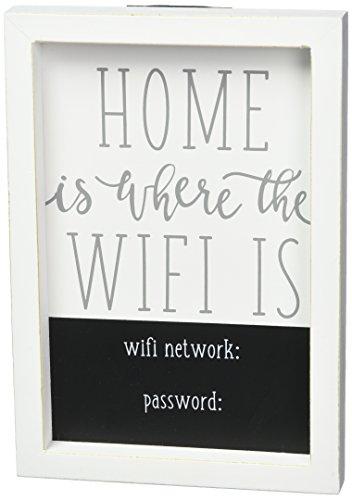 Mud Pie WiFi Home Decor Plaque