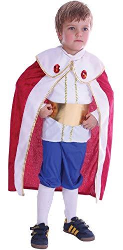 Fancy Me Junge Kleinkind Prince Charming König Weihnachtskostüm Outfit 2-3 J - Multi, Multi, 2-3 Years