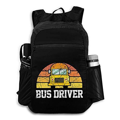 Foldable Backpack Traveling B Driver School B Portable Storage Bag Hiking Bag Hiking Leisure Bag