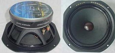 Audio Nirvana Classic 8 Ferrite Full-Range Speakers (Pair). No Crossover, 100 dB Efficiency. The World's Best Sound
