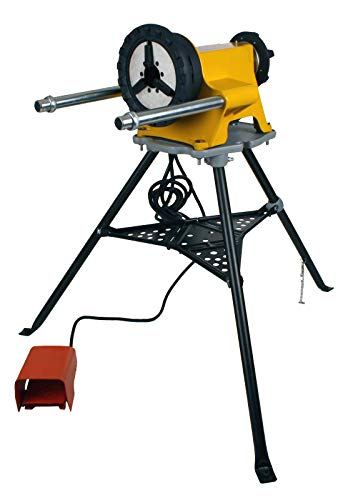 Steel Dragon Tools 300 Power Drive and 1206 Stand for Roll Grooving or Pipe Threading 41855 42360