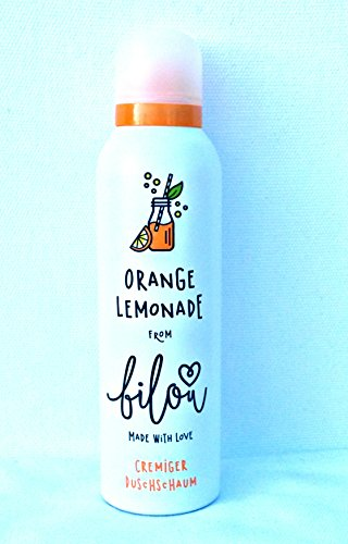 Bilou Orangen Lemonade/Orange Lemonade Cremiger Duschschaum Vegan 200 ml