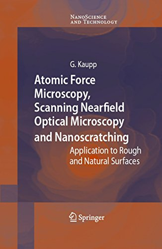 Atomic Force Microscopy, Scanning Nearfield Optical Microscopy and Nanoscratching: Application to Rough and Natural Surfaces (NanoScience and Technology) (English Edition)