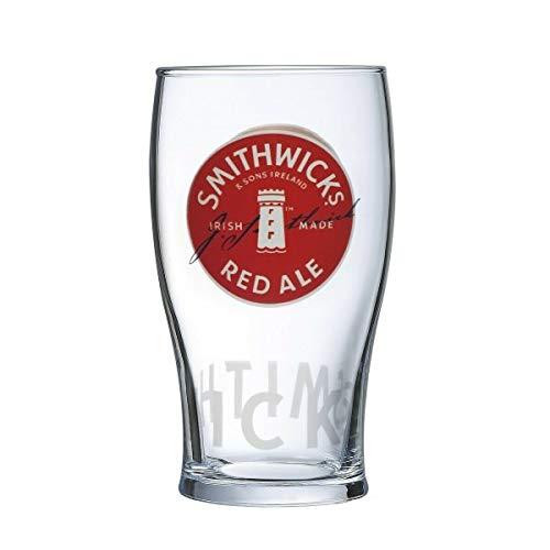 Smithwick's Irish Red Ale Signature Pint-Glas, 570 ml
