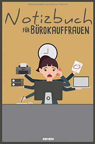 Notizbuch für Bürokauffrauen: 200 Seiten A5 | Liniert & Gepunktet/Dotted | Perfekt für's Büro | Bürokauffrau | Ausbildung & Studium | Notizen