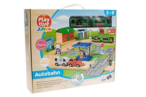 Playtive Junior Autobahn Spielzeug Spielewelt