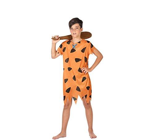 Atosa-56841 Disfraz Cavernícola, Color Naranja, 3 a 4 años (56841)