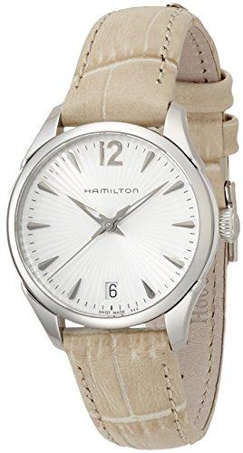 Hamilton Jazzmaster Lady H42211855 - Reloj para mujer con correa de piel