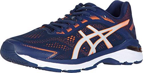 ASICS Men's GT-2000 7 (2E) Running Shoes, 9W, Indigo Blue/Shocking Orange