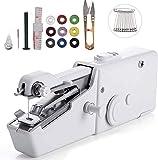 Macchina da cucire portatile, mini macchina da cucire portatile, 25 pezzi, mini pratica macchina da...