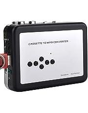 chenpaif Digital Converter, Cassette Tape Player Record Tape to MP3 Digital Converter, USB Cassette Capture, Save to USB Flash Drive Directamente