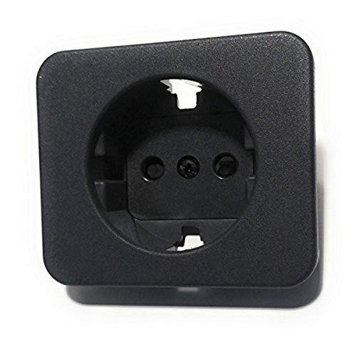 Simon - 75041-68 tapa enchufe 2p+tt schuko s-75 c/segur grafit Ref. 6557538236