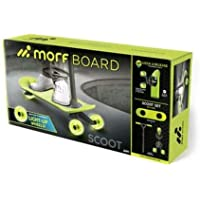 MorfBoard Scooter with Light-Up Wheels (Green)