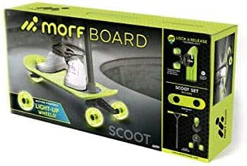 MorfBoard Scooter with Light-Up Wheels