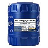 1 x 20L Mannol TO-4 Powertrain Oil SAE 30 / Aceite para engranajes para tractores, cargadoras de ruedas, excavadoras bulldozern