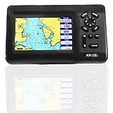 Marine Boat GPS Navigator Plotter de pantalla LCD de 5 pulgadas con transpondedor AIS de clase B