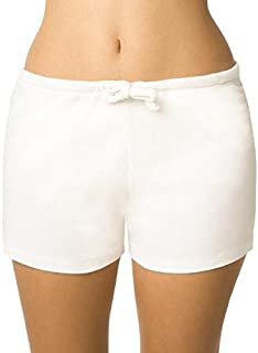 Cottonique Women's Hypoallergenic Drawstring Boxer Short Made from 100% Organic Cotton