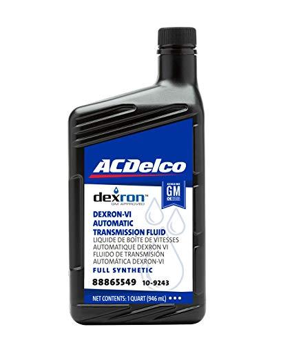 ACDelco GM Original Equipment 10-9243 Dexron VI Full Synthetic Automatic Transmission Fluid - 1 qt