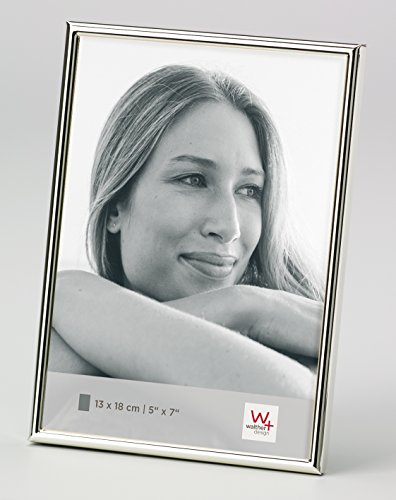 Walther design WD318S Chloe Portraitrahmen 13x18 cm, silber