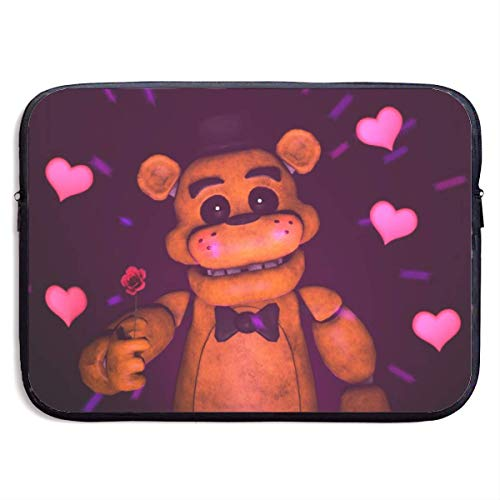 Five Nights at Fre-d-dy's Laptop Sleeve Bag 15″ Computer Case Tablet Briefcase Waterproof Portable Messenger