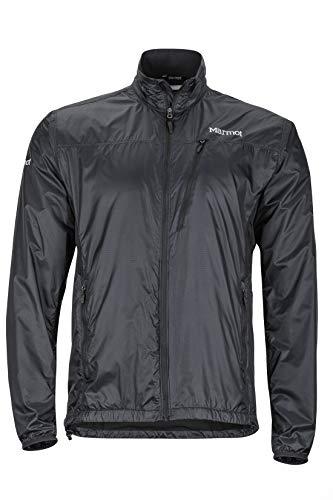 Marmot Men's Ether Driclime Jacket, Black, Large