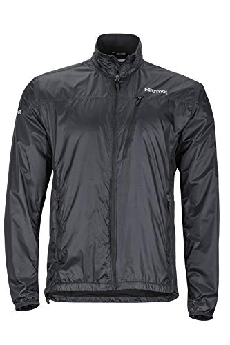 Marmot Men's Ether Driclime Jacket, Black, Large