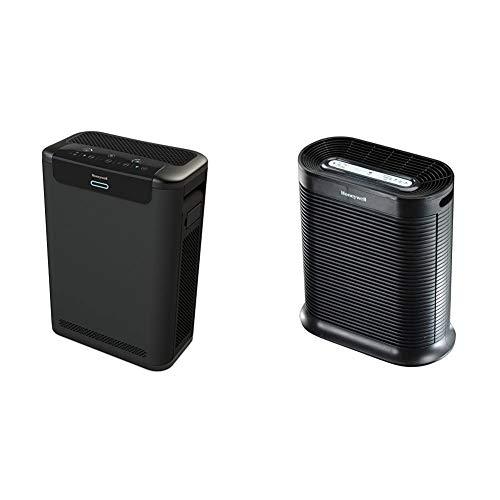 Honeywell HPA600B Professional Series True HEPA Air Purifier & HPA300 True HEPA Air Purifier, Extra-Large Room, Black