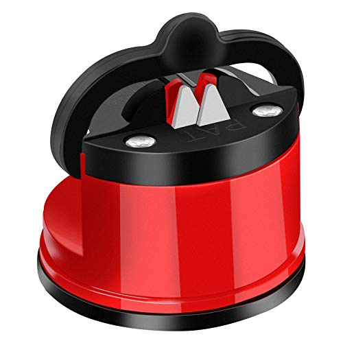 Knife Sharpener - Lifetime Use for Any Knife Sets,Safe Manual Knife Sharpening Tool,Knife Sharpening Tool Helps Repair and Restore Blades - Kitchen & Home Knife Sharperener