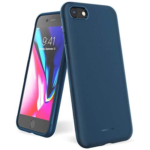 UNBREAKcable Kompatibel mit iPhone SE 2020 Hülle, iPhone 8/7 Hülle - [Fallschutz, rutschfest] Weiche, mattierte TPU Ultra-dünne Stylische Handyhülle, Case, Cover für 4,7 Zoll (Matt Blau)