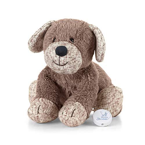 Sterntaler 6011961 Baby Spieluhr M Hanno Hund Design 19 - aus über 100 Melodien ein Spielwerk wählen (* Melodie Brahms Wiegenlied (Guten Abend gute Nacht))