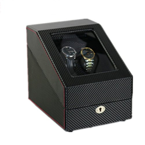 Caja Giratoria Relojes Watch Winder Caja giratoria de la mesa giratoria Watch Enrollador, caja de cadena superior automática, caja de cuerda superior, mesa de batido de reloj, medidor de sacudidas, ca
