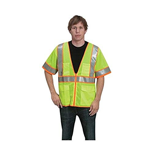 HiVizGard All Mesh Fabric Class 3 Vest with Sleeves, 6X-Large