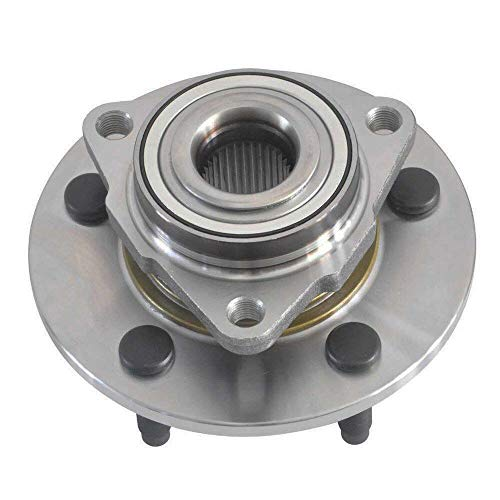 CRS NT515072 New Wheel Bearing Hub Assembly, Front Left (Driver)/ Right (Passenger), fits for 2002-2008 Dodge Ram 1500, 2WD/ 4WD, W/O Wheel ABS