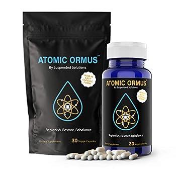 Suspended Solutions - Atomic ORMUS - Capsules - MONATOMIC Gold Capsules - 100% Pure ORMUS Powder - 100% Vegan - ormus Gold monatomic Gold 30 Capsules