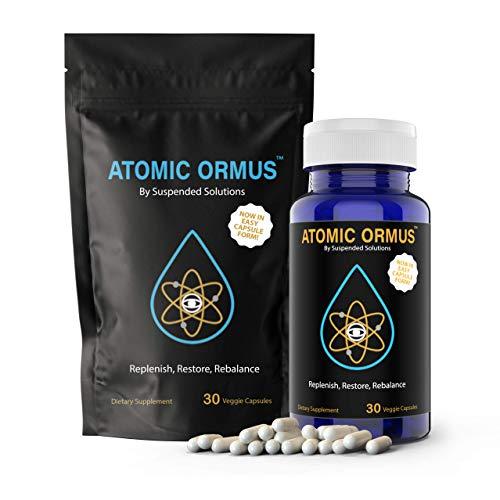 Suspended Solutions - Atomic ORMUS - Capsules - MONATOMIC Gold Capsules - 100% Pure ORMUS Powder - 100% Vegan - ormus Gold, monatomic Gold,(30 Capsules)
