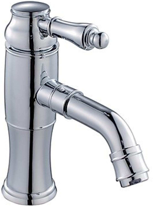 Miaoge Centerset Moderner Stil Chrome Finish Messing Waschbecken Wasserhahn
