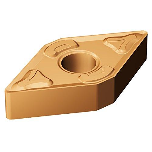 Sandvik Coromant, DNMG 431-XM GC15, T-Max P Insert for Turning, Carbide, Diamond 55°, Neutral Cut, GC15 Grade, (Ti,Al) N+(Al,Cr)2O3 (Pack of 10)