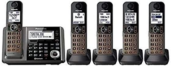Panasonic KX-TG585SK DECT, 5-Handset Landline Telephone (Renewed)
