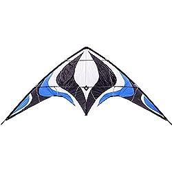top rated Babyeden Blue Sport Prism Delta Dual-Line Stunt Kite 84-Inch 2021