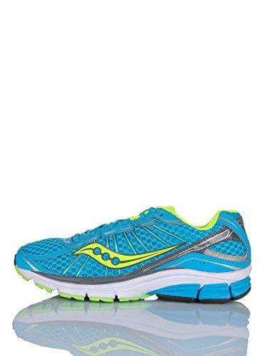 SAUCONY Jazz 17 Zapatillas de Running para Mujer, Azul/Amari
