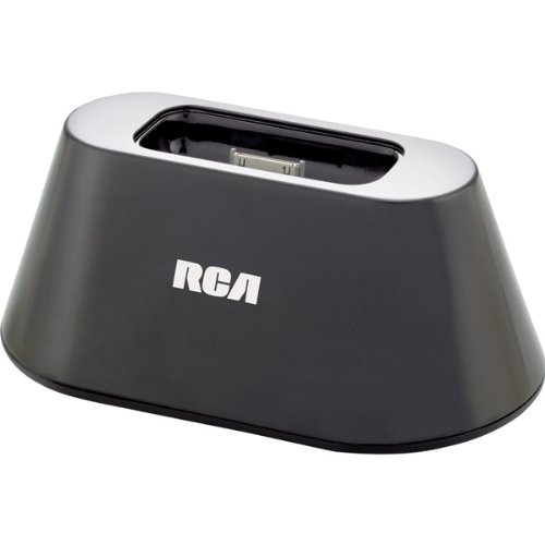 RCA - Charging iPod/iPhone Dock with AC and 1 USB Outlet