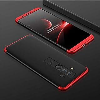 Zore Huawei Mate 10 Pro Kılıf Double Dip AYS 3in1 Sert Rubber Kapak Siyah-Kırmızı